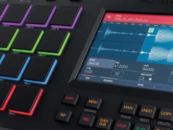 Las nuevas características del controlador Akai MPC Touch