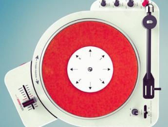 """7"""" Portable Scratcher y DIF-7PT: vinilo retro, portátil y turntablism"""