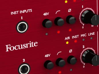 Review de las interfaces Focusrite Clarett 8Pre y 8PreX
