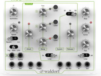 Waldorf presenta tres módulos eurorack