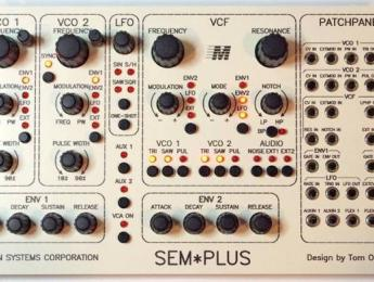 Oberheim SEM-Plus y Mini-Sequencer, dos nuevos módulos eurorack