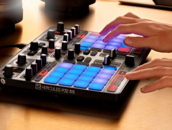 Hercules P32 DJ, controlador de pads para controllerism