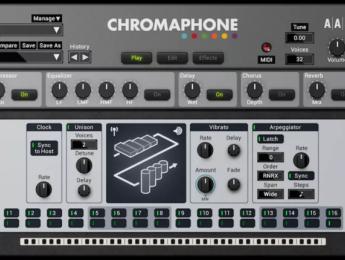 AAS anuncia la segunda versión de Chromaphone