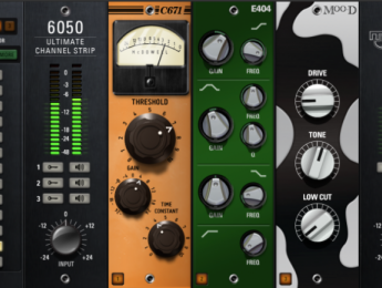 6050, el channel strip de 25 módulos de McDSP