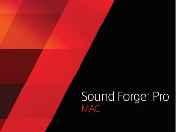Sony anuncia Sound Forge Pro Mac 3 y SpectraLayers Pro 4