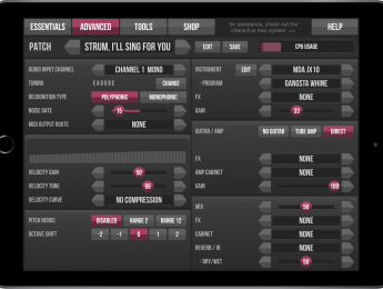 Jam Origin lleva su conversor MIDI Guitar 2 a iOS