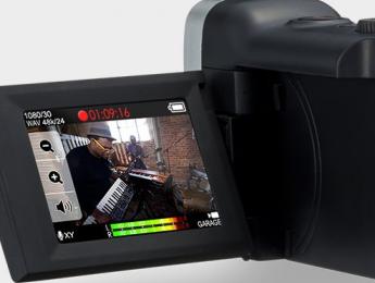 Zoom Q4n, otra videocámara que enfoca al audio