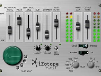 Izotope reedita en freeware Vinyl, un efecto vinilo
