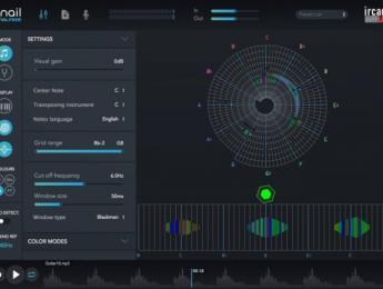 IrcamLab presenta The Snail, un avanzado afinador y analizador espectral