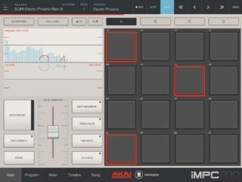Nuevas funciones para Akai iMPC Pro en la versión 1.5
