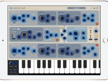 Mersenne, un raro sinte de percusión melódica para iOS