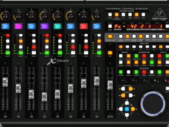 Behringer X-Air ahora puede controlarse desde X-Touch