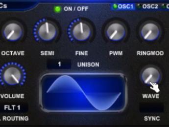 Acoustica NightLife, sinte EDM gratuito para Windows
