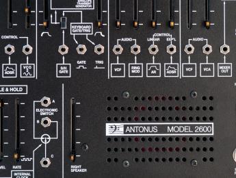 Antonus 2600, el clon ARP 2600 de Toni Gutiérrez