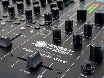 Funktion-One FF6.2, nuevo mixer analógico en colaboración con Formula Sound