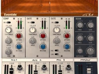 Eventide Tverb, un plugin creado en colaboración con Tony Visconti