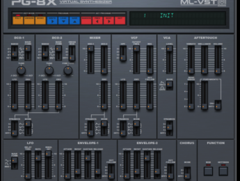 PG-8X 2.0, simulación del Roland JX-8P para Mac y Windows