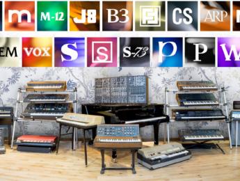 V Collection 5: Arturia acrecienta su museo software de síntesis y teclados