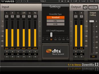 Nuevos plugins Waves para convertir entre mono, estéreo y surround