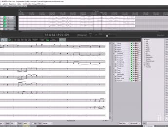 Reaper añade editor de partituras en su versión 5.2
