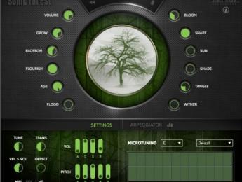 Sonic Forest, un sampler en el que los sonidos se cultivan como árboles