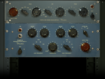 Acustica lanza Purple, dos ecualizadores de modelado analógico