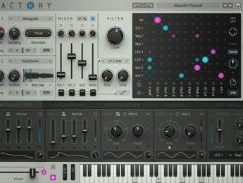 Factory, nuevo sinte modular virtual de Sugar Bytes