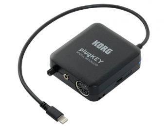 Korg anuncia plugKey, una interfaz audio/MIDI para iOS