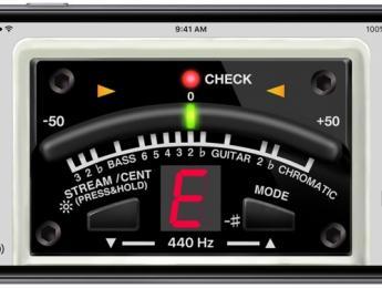 BOSS Tuner App, un afinador gratuito para iOS y Android