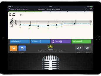 La app de entrenamiento auditivo EarMaster llega al iPad