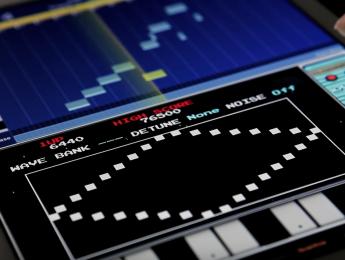 Kamata, un sinte para Korg Gadget que suena a videojuego de los 80