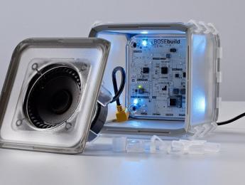 Bose lanza un altavoz para ser ensamblado por niños y enseñarles la ciencia del audio
