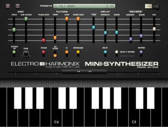 Electro-Harmonix Mini Synthesizer vuelve a la vida en iOS