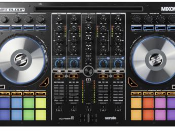 Reloop Mixon 4, controlador integral para Serato DJ y Djay Pro