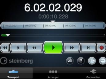Controlador remoto Cubase iC para iPhone e iPod Touch