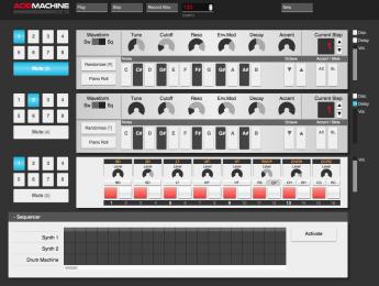Acid Machine emula las clásicas TB-303 y TR-909 en tu navegador