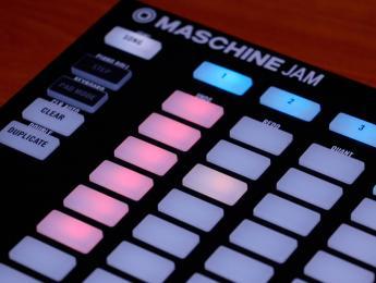 Demo de Maschine Jam, el nuevo controlador creativo de Native Instruments