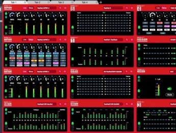 Focusrite RedNet Control 2.0 soporta 600 interfaces con 9600 canales en Dante