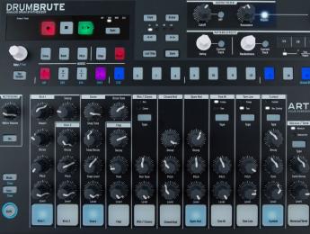 Arturia DrumBrute, una caja de ritmos analógica en la familia