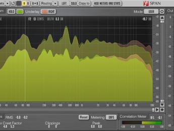 Voxengo Span 3: el popular analizador de espectro sigue siendo gratuito