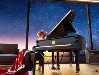 El piano Fazioli F228 de Freddie Mercury, sampleado por la balear Wavesfactory