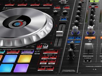 Pioneer DDJ-SZ2, controlador profesional para Serato DJ