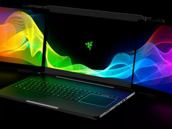 Project Valerie, un ordenador portátil con triple pantalla 4K