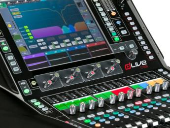 Allen & Heath dLive C Class, superficies compactas y MixRacks para mezcla en directo