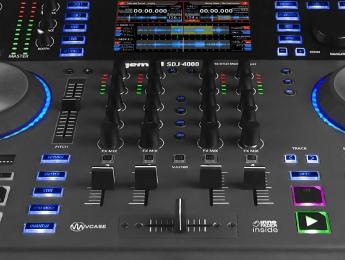 Gemini SDJ-4000, sistema autónomo de 4 canales para DJs