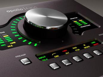 Apollo Twin MkII renueva el interfaz y procesador de sobremesa de Universal Audio