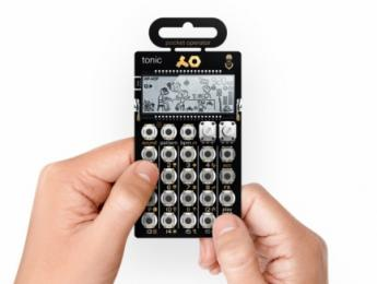 Teenage Engineering PO-32, un sinte de percusión miniatura que se integra con Microtonic