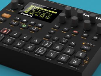 Elektron presenta Digitakt, su nueva máquina de ritmos digital
