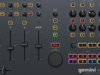 MAS-1, el controlador de Gemini para DJs que quieren usar Live