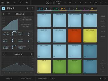 Beatmaker 3 para iOS añade modo escena con sabor a Ableton Live